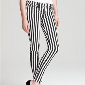 Hudson | Krista Super Skinny Stripe jeans 26